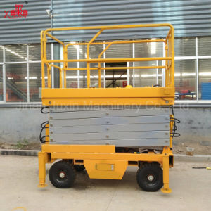 11m Manual Scissor Lift Platform with Competitive Price pictures & photos