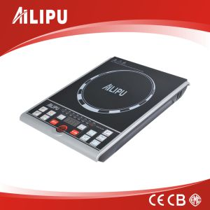 120V 1500W Push Button Induction Cooker, Induction Cooktop, Induction Hob with ETL Approval pictures & photos