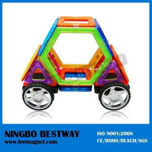 Plastic Connecting Magnetic Cars Shapes Toy pictures & photos