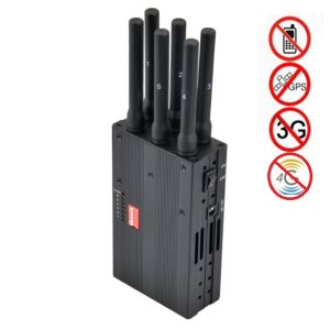 2015 New Portable 6 Bands 4G Lte 4G Wimax Celluarl Jammer pictures & photos