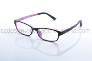ab3dd6ad4a6 China New Model Fashion Flexible Plastic Tr90 Optical Frame for Lady ...