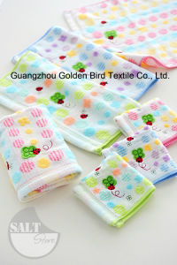 100% Cotton Yarn Dyed Half-Twistlee Han Kerchief with Embroidery