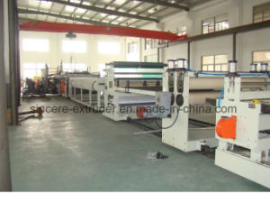PC Hollow Sheet Production Line/Polycarbonate Sheet Extruding Machine 2100mm pictures & photos