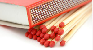 Colored BBQ Safety Matches pictures & photos