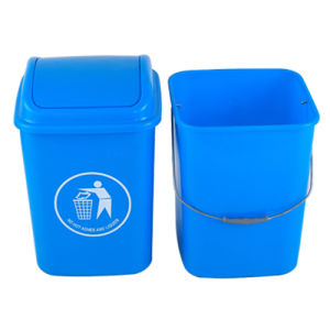 High Quality Plastic Trash Can (20L)
