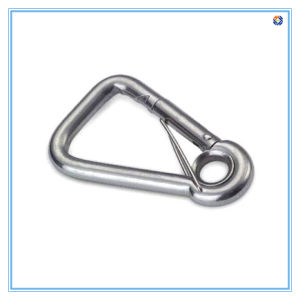 Zinc Plated Carabiner with Eyelet pictures & photos