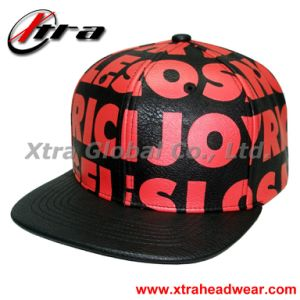 Leather Cap with Printing Logo pictures & photos