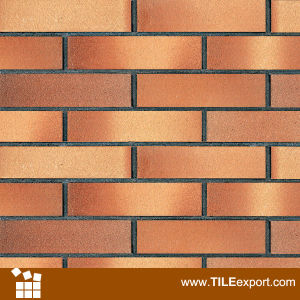 china plane surface clay brick tile for wall decoration china