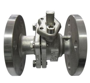 ANSI Flanged Ball Valve RF Flanged 150lb Ss304 pictures & photos