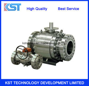 Flanged Cast Steel Trunnion Ball Valve (Q347F)