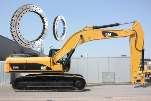Kobelco Excavator Slewing Bearings with 1-Year-Warranty-Period (SK330-6E) pictures & photos