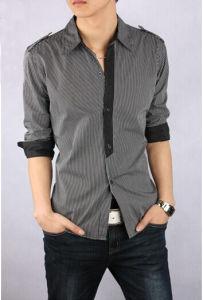 de0b818e96c5c7 China 100% Fashion Latest Design Casual Designer Check Shirts for ...