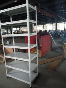 Slotted Angle Iron Heavy Duty Shelving Rack pictures & photos