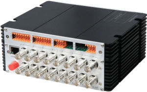 16CH One-Way Video With16CH Bi-Directional Data and 10/100Mbps Ethernet on One Optical Fiber