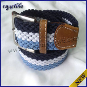 Latest Design Fashion Fabric Woven Braided Belts Cotton Belts