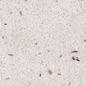 Beige Kitchen Coutertop Artificial Quartz Stone