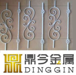 Two-Floor Stair Wrought Iron Stair Railing pictures & photos