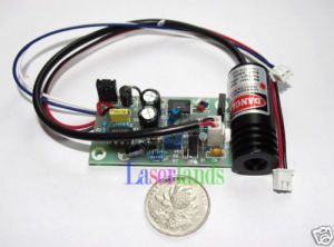 Ttl Focusable 650nm 660nm Red 100mw Laser Module