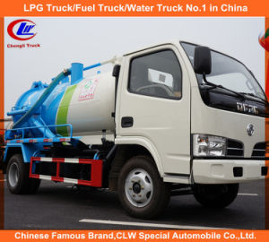 Mini Dongfeng 4*2 Sewage Suction Truck pictures & photos