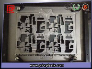 Selective Wave Soldering Pallet Made by Titanium Material pictures & photos