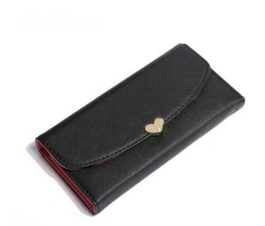 New Arrival PU Leather Women Wallet Long Design Ladies Clutches Coin Purse Card Holder Wallet