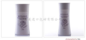 Class Style Round Shape Pump and Jar Bottles for Skin Care pictures & photos