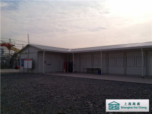 Slope Roof Prefab House Modular Building with Flexible Design (SHS-mh-camp034) pictures & photos