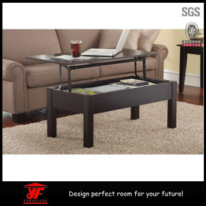 Amazon Hot Sale Modern Wooden Lift Top Coffee Table Design