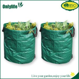 Onlylife 2 Strong Garden Bags Rubbish Garden Sack with Handles pictures & photos