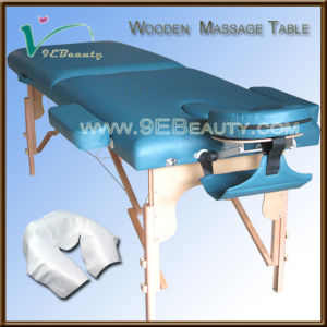 Wooden Massage Table, Portable Massage Table, 2sections Massage Table