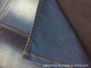 Cotton Two-Sided Stretch Denim Fabric