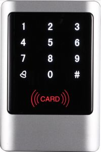 New Design! IP65 RF Touch Keypad Metal Case Outdoor Access Control pictures & photos