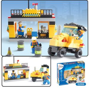 Vehicle Project Building Blocks Educational Toys (RP62006)