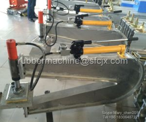 Point Type Conveyor Belt Jointing Vulcanizing Press (YXL-250X300) pictures & photos