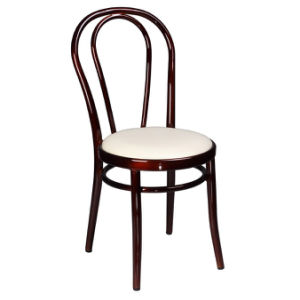 Aluminum Thonet Bentwood Side Chairs (C1401C)