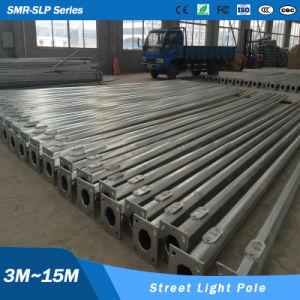 6m 7m 8m 9m 10 M 11m 12m Hot Rolled Steel Light Lamp Column Pole