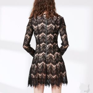 High Quality Women Bandage Bodycon Fashion Lace Dress pictures & photos
