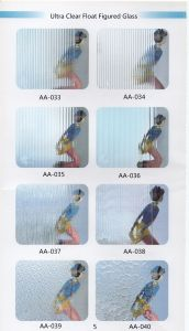 Ultra Clear Float Figured Glass/Patterned Glass/Rolled Glass with Ce pictures & photos