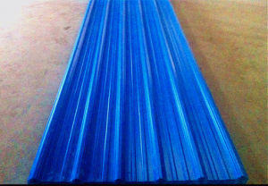 Anti-Corrosive Plastic Corrugated PVC Roofing Sheet for Shed From China Supplier
