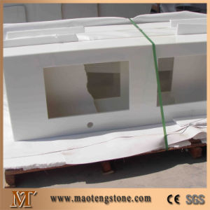 Polished Engineering Customized Nano Glass Stone Vanity Top