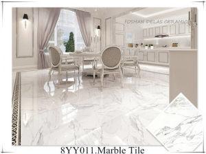 Italian Bianco Carrara Calacatta White Marble Ceramica Piso Polished Porcelain Floor Tile 100x100 80x80 60x60 60x120