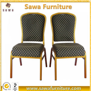 Cheap Gold Metal Banquet Chair Hotel Restaurant Chairs pictures & photos
