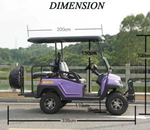 Hot Sale 4 Seater Ce Approved Electric Golf Cart
