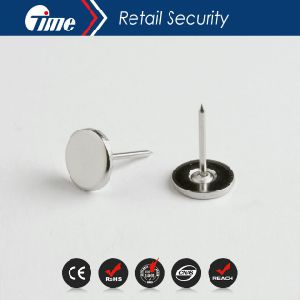 Ontime Pn6001 - High Quality Flat Steel Hard Tag EAS Pin pictures & photos
