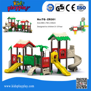 Plastic Slide Type Kids Outdoor Commercial Playground for Outdoor pictures & photos