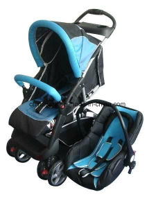 China European Standard Luxury Baby Stroller With Car Seat China