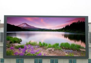 Outdoor Advertising P10 LED Display 960mm X 960mm with Video Function