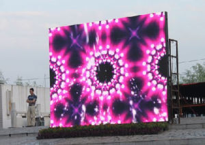 High Effective Outdoor Full Color Rental LED Display Screen