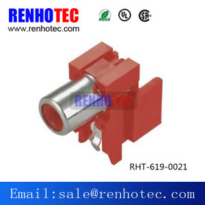 Types of Right Angle RCA Jack PCB Mount Connector pictures & photos