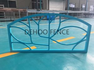 Ce/SGS Light Blue Powder Coated Galvanzied Steel Highway Fence pictures & photos
